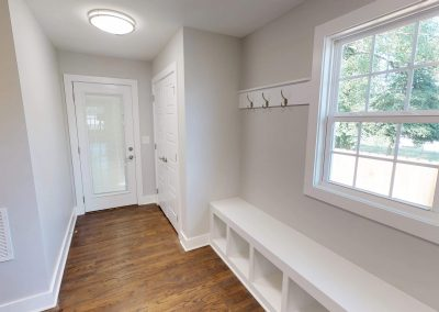 Open and Spacious Mud Room and Drop Zone