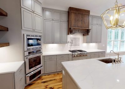 Custom kitchen with Thermador appliances