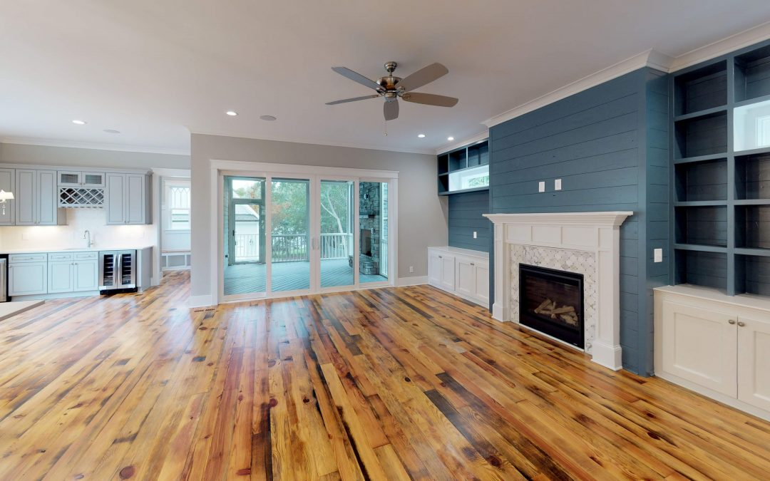 Adding Character With Reclaimed Wood Floors