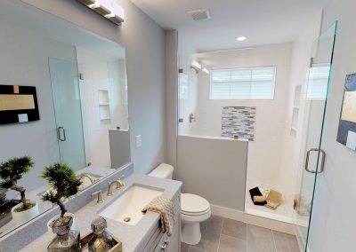 Amazing Custom Tile Work and Frameless Shower Enclosures