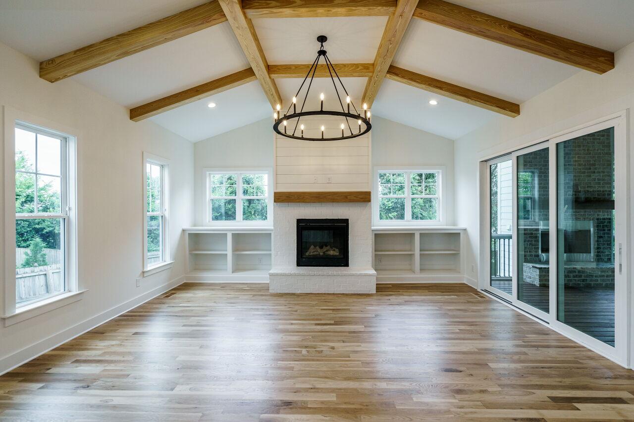401 Bickett Blvd Living Room Custom Design by Urban Building Solutions