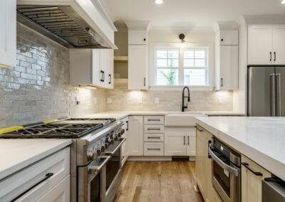 401 Bickett Blvd kitchen Custom Design by Urban Building Solutions