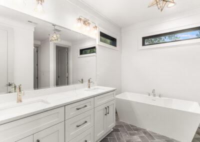 713 Mial Street Raleigh Custom Design by Urban Building Solutions Owners Bathroom