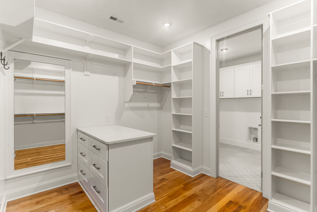 713 Mial Street Raleigh Custom Design by Urban Building Solutions Owners Closet