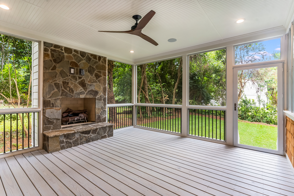 713 Mial Street Raleigh Custom Design by Urban Building Solutions Porch