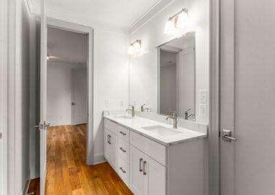 713 Mial Street Raleigh Custom Design by Urban Building Solutions Upstairs Bathroom