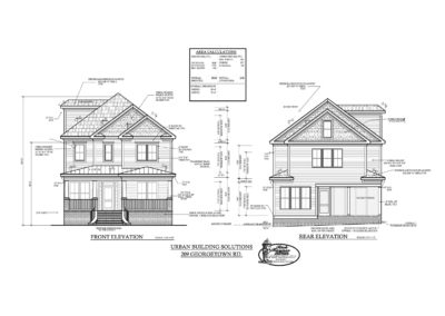 209 Georgetown Road: Custom Build by Urban Building Solutions