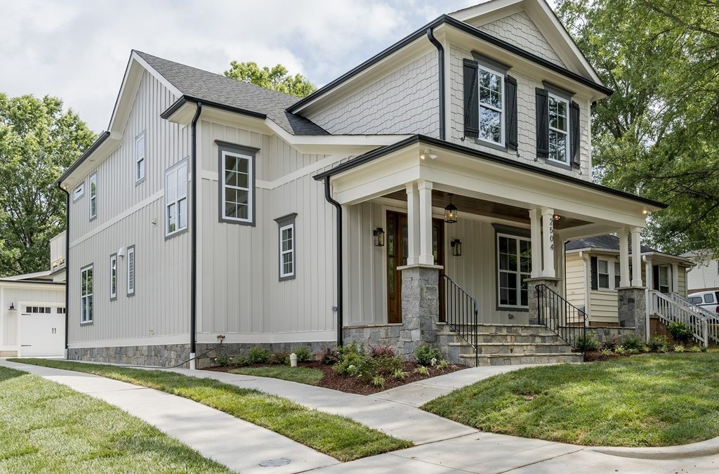 Now Showing: Custom Cameron Village Home by Urban Building Solutions