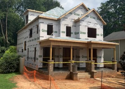 209 Georgetown Road in Raleigh - Custom Home Construction by Urban Building Solutions - August 2020 Progress 03