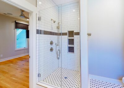 227 Georgetown Road Raleigh NC 27608 Built by Urban Building Solutions Walk-In Shower