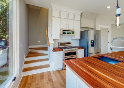 227 Georgetown Road Raleigh NC 27608 Built by Urban Building Solutions Gourmet Kitchen