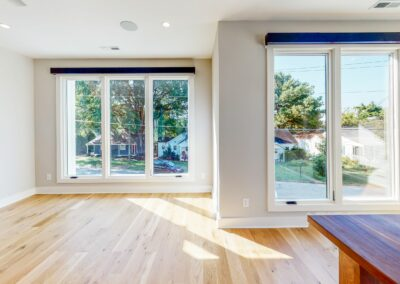 227 Georgetown Road Raleigh NC 27608 Built by Urban Building Solutions Open Concept Living