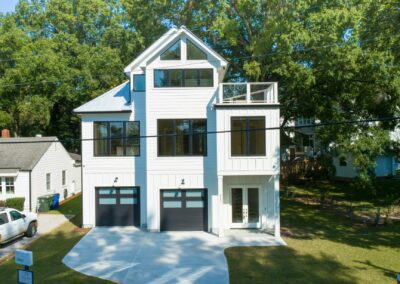 227 Georgetown Road Raleigh NC 27608 Built by Urban Building Solutions Front Yard