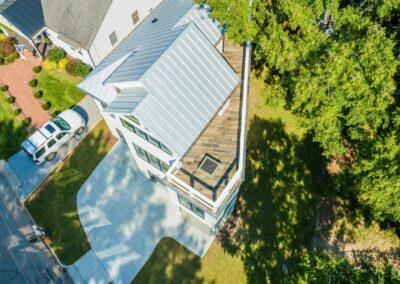227 Georgetown Road Raleigh NC 27608 Built by Urban Building Solutions Aerial View