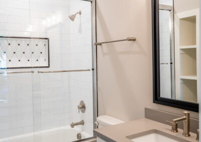 227 Georgetown Road Raleigh NC 27608 Built by Urban Building Solutions Guest Bathroom