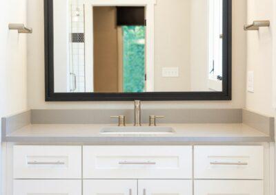 227 Georgetown Road Raleigh NC 27608 Built by Urban Building Solutions Bright Bathroom