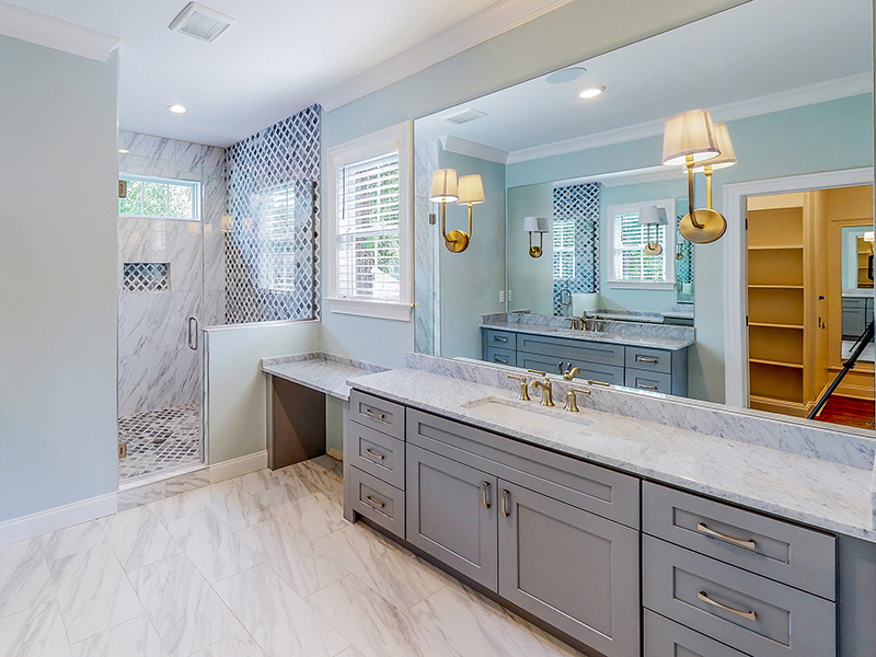 Selecting Bathroom Tile for Your Custom Home