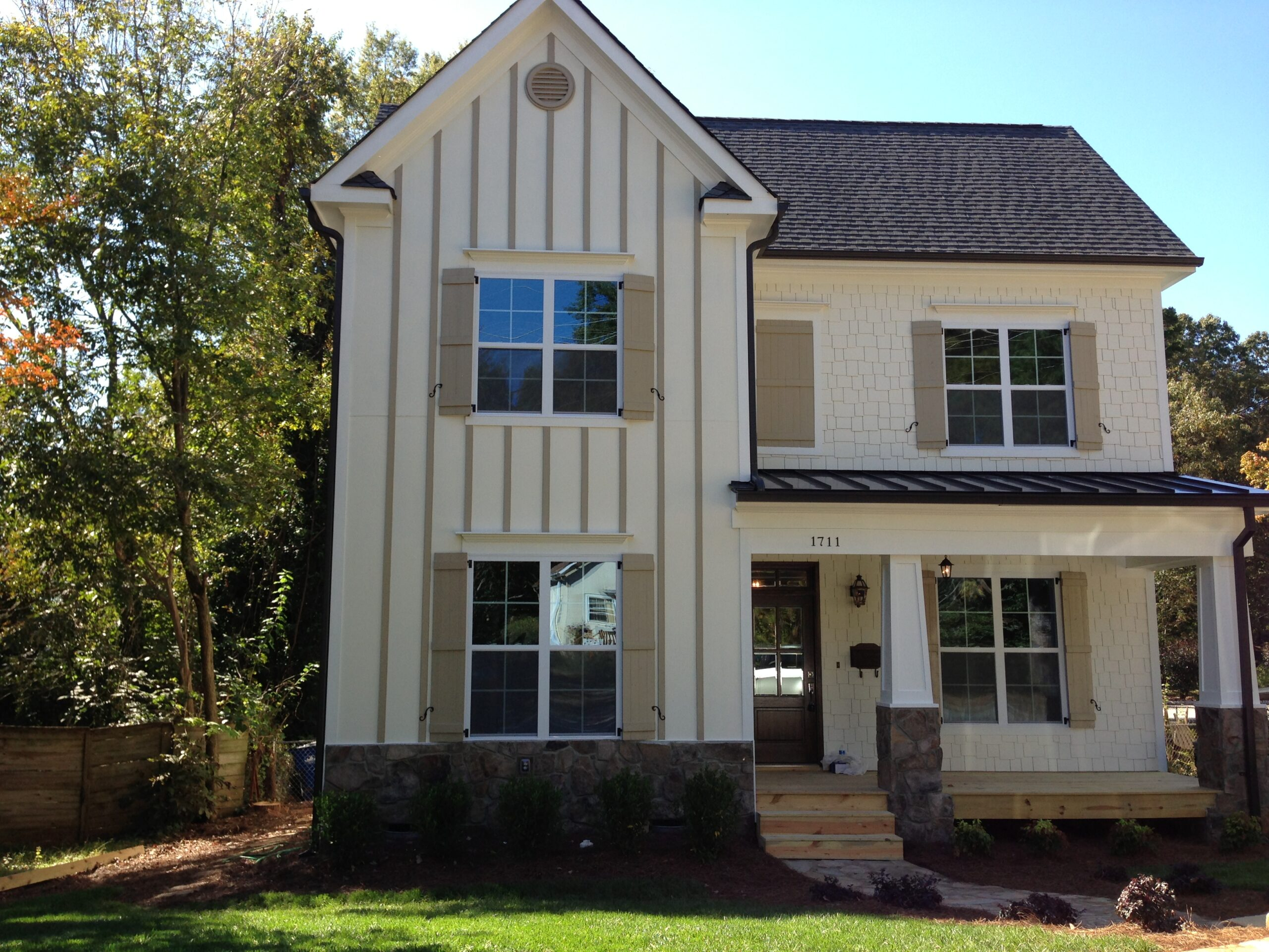 1711 Center Road in Raleigh Custom Built Home by Urban Building Solutions